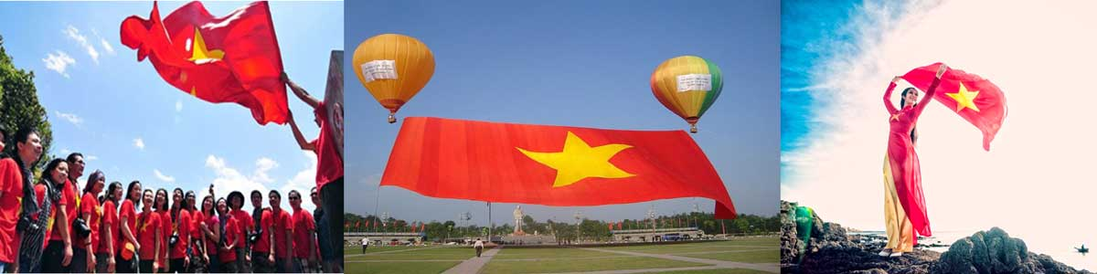 Banner Cờ Tổ Quốc