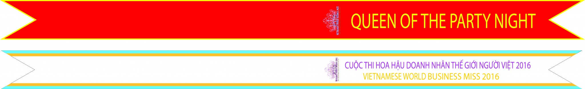 Một trong các mẫu thiết kế băng đeo chéo